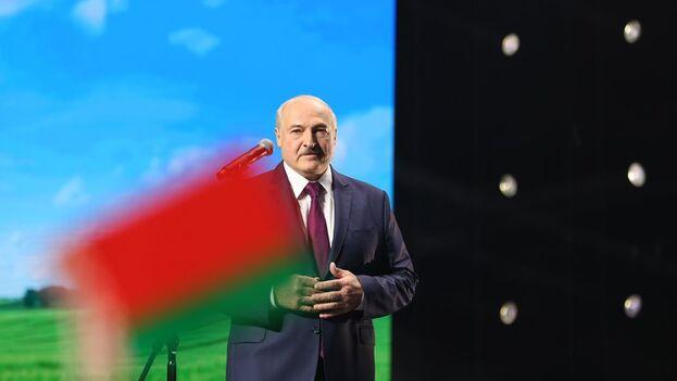 El dirigente de Bielorrusia, Alexandr Lukashenko. (EFE/EPA/Andrei Stasevich/Belta)