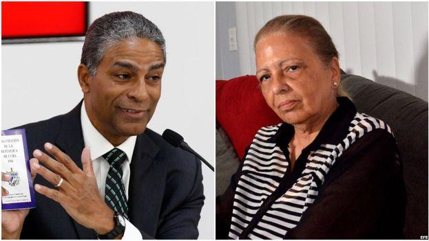 Los disidentes cubanos, Oscar Elías Biscet y Martha Beatriz Roque. (Montaje Martinoticias)