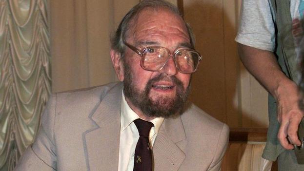 Blake nació en 1922 en Holanda, donde se alistó en la resistencia contra la invasión nazi. (EFE/SERGEI CHIRIKOV)