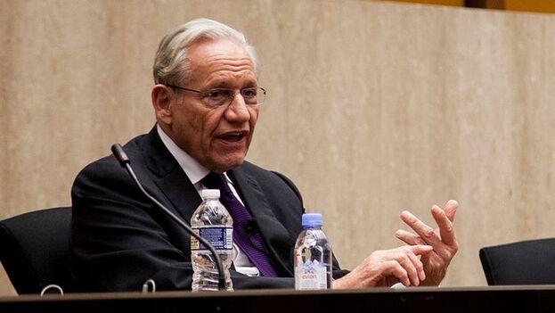 Bob Woodward es uno de los periodistas más conocidos en EE UU desde que en 1972 formó parte del equipo que destapó el caso Watergate. (wikimedia)