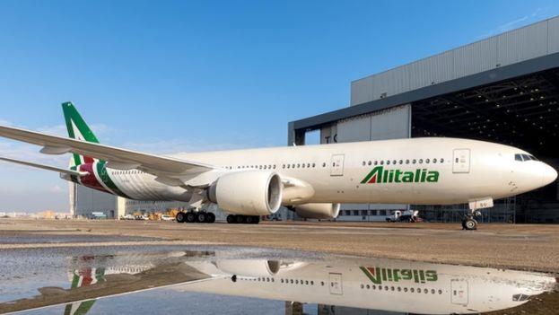 Un Boeing 777. (Alitalia)