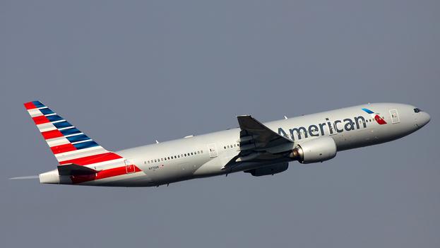Boeing 777-200ER de American Airlines. (CC)