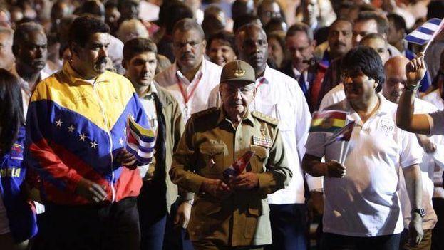 El talante democrático de Bolivia, Cuba y Venezuela va a debate en Brasil. (EFE)