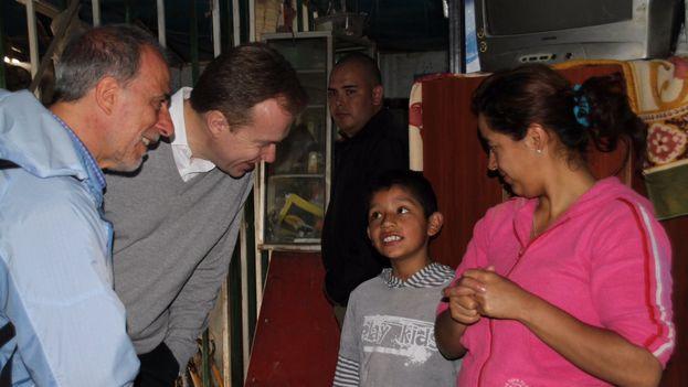 Borge Brende visitó en Colombia a víctimas del conflicto. (@Utenriksdept)