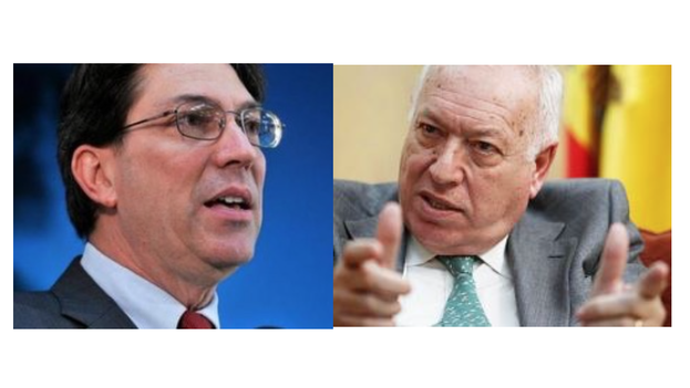 Bruno Rodríguez y José Manuel García-Margallo