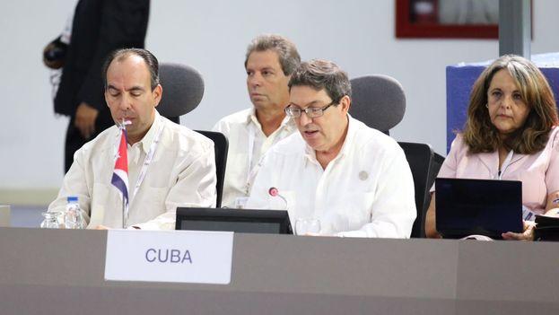 Bruno Rodríguez acusó a la comunidad internacional, miembros del MNOAL incluidos, de incumplir los principios establecidos. (@MNOAL_Venezuela)