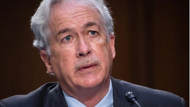 El director de la CIA, William J. Burns. (EFE/EPA/SAUL LOEB / POOL/Archivo)