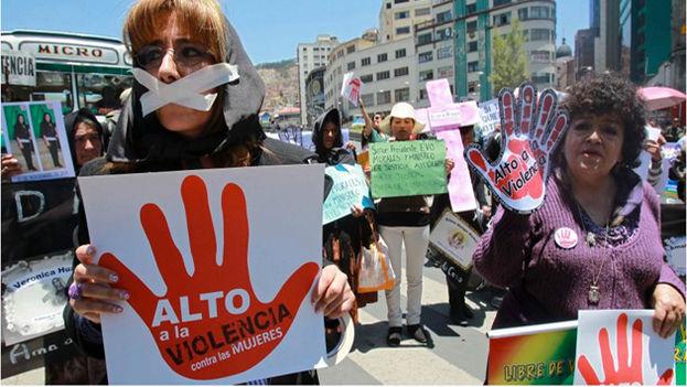 """La presidenta de la CIDH, Margarette May Macaulay, consideró """"inadmisible que mujeres con órdenes de protección sean asesinadas"""". (EFE)"""