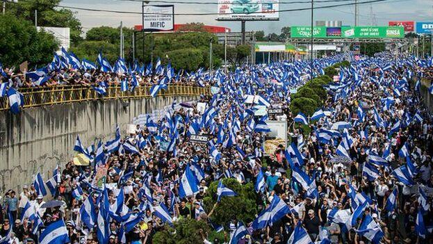 """La CIDH recordó al Estado """"su obligación internacional y su compromiso ante la Mesa de Negociación, de garantizar el derecho a la protesta social y la integridad de los manifestantes"""". (CIDH)"""
