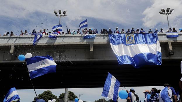 Según la CIDH ha incrementado la acción del Gobierno ante defensores de los derechos humanos en Nicaragua. (EFE)