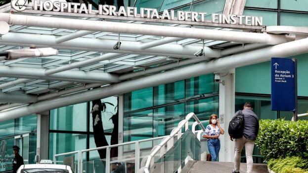 El primerapaciente de COVID-19 en Brasil fue detectado en el Hospital Albert Einstein de Sao Paulo. (EFE)