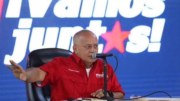 """Cabello aseguró que depende de """"la inteligencia social"""" y de su """"organización política (...) estar pendiente de cada detalle"""". (Captura)"""
