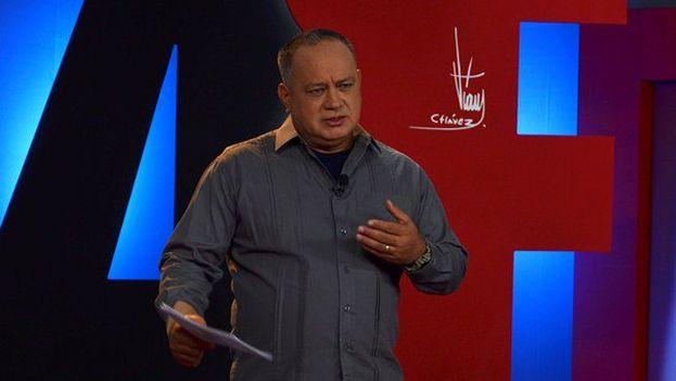Cabello está convencido de que la oposición tampoco permitiría funcionarios con responsabilidades chavistas. (Twitter)