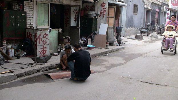 Calle de la zona vieja de Pekín. (Pixabay)