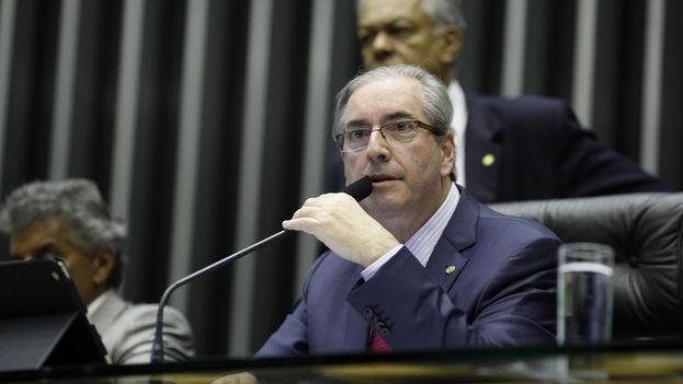 El presidente de la Cámara de Diputados de Brasil, Eduardo Cunha. (Flickr)