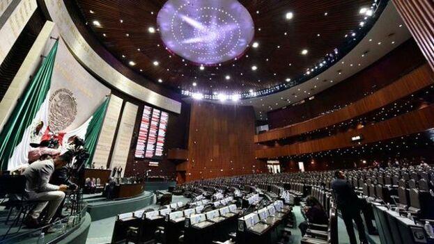 La Cámara de Diputads aprobó la creación de la polémica Guardia Nacional por 463 votos a favor, 1 en contra y 0 abstenciones. (@Mx_Diputados)