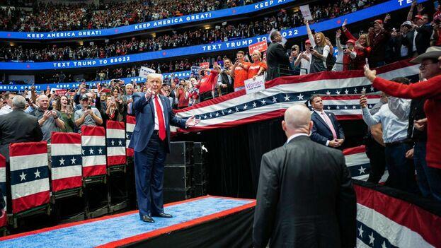 Se espera que la Cámara de Representantes reúna sin problemas los votos para aprobar un juicio político contra Trump. (@realDonaldTrump)