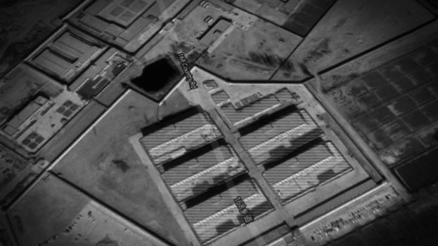 Campos de detención de Xinjiang captados por satélite en los que el Gobierno chino tiene, según organizaciones de derechos, a centenares de musulmanes.