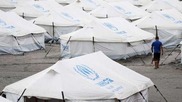 Campos de refugiados de venezolanos en Brasil. (@NoticiasVenezue)