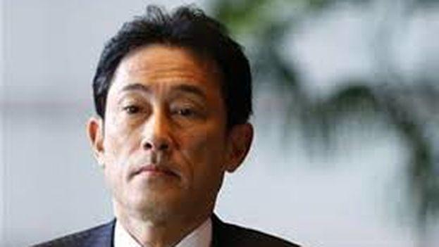 Canciller japonés Fumio Kishida