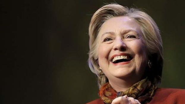 Candidata virtual a las elecciones estadounidense por el Partido Demócrata. (EFE)