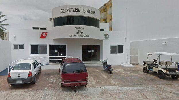 Imagen de la Capitanía de Puerto en Isla Mujeres, Quintana Roo. (Google)