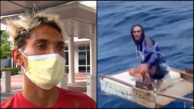 Capote salió por Playa Herradura, en el Mariel, provincia de Artemisa, junto a otros tres jóvenes que murieron en la travesía. (Collage)