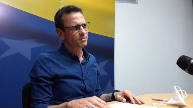 Capriles defendió que no se celebren las legislativas en las condiciones actuales. (Captura)