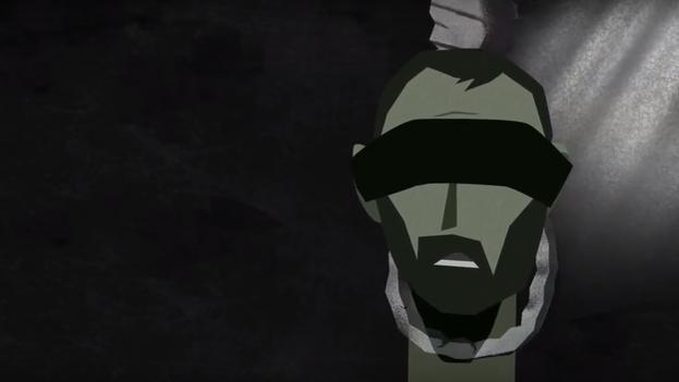 Captura del vídeo de Amnistía Internacional 'Saydnaya: la cárcel siria que es un matadero humano'. (AI)