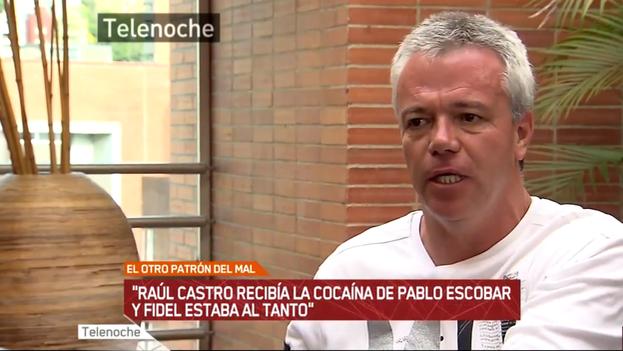 Captura de pantalla del programa argentino 'Telenoche' sobre 'Popeye', exsicario de Pablo Escobar. (Youtube)