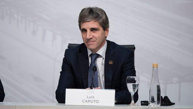 La salida de Caputo se produce, según la información oficial, a motivos personales. (EFE)