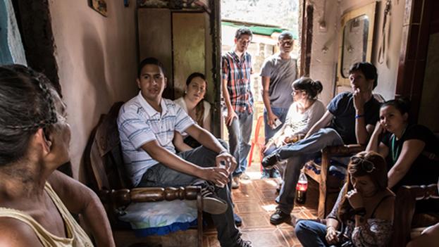 """Caracas Mi Convive busca mostrar desde la perspectiva de los adversarios de la revolución bolivariana que se puede """"hacer proyectos en conjunto"""". (miconvive.com)"""