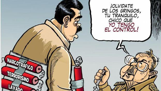 Caricatura de M Guillén. (La Prensa)