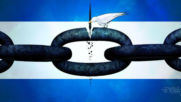 Caricatura de Pedro X Molina por el día del Periodismo en Nicaragua, el pasado 1 de marzo.