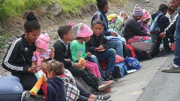 Cáritas se ha convertido en una organización de referencia en La Paz para todo venezolano que llega. (EFE)