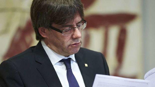 Carles Puigdemont fue detenido en Alemania el pasado 26 de marzo. (EFE)