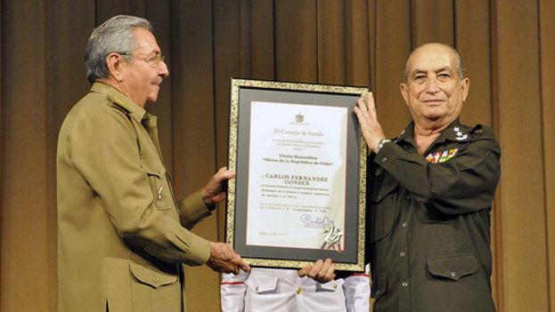 Carlos Fernández Gondín marcó con su impronta el Ministerio del Interior. (Cortesía)