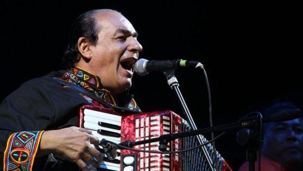 El cantautor Carlos Mejía Godoy, compositor de canciones épicas sobre la revolución sandinista. (Twitter)