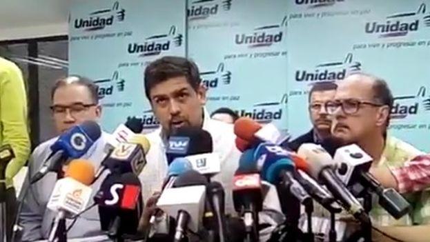 Carlos Ocariz, alcalde de Sucre, habla de las metas y objetivos para el 11 de noviembre. (@unidadvenezuela)