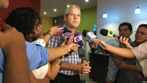 Carlos Pastora, gerente de 'Canal 10', en una foto de archivo. (Cortesía, vía diario digital Confidencial, Nicaragua)