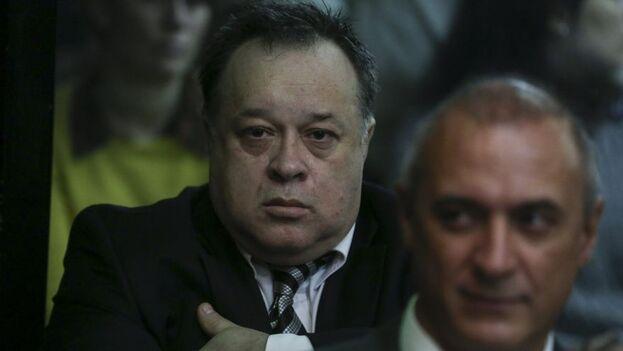 Carlos Telleldín, acusado de haber acondicionado y vendido la camioneta que se usó en el atentado a los autores materiales del mismo, fue absuelto. (EFE)