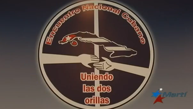 Cartel del encuentro entre opositores cubanos en San Juan. (Martí Noticias/ captura de pantalla)