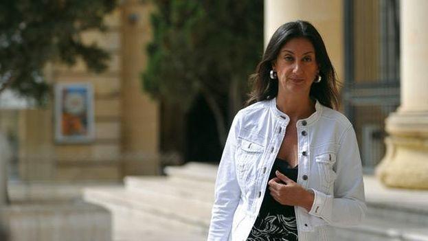 Caruana Galicia también fue una de las periodistas que más activamente investigó la relación de la clase política maltesa con los Papeles de Panamá. (Times of Malta)