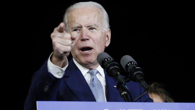 En la imagen, el candidato demócrata a la Casa Blanca, Joe Biden. (EFE)