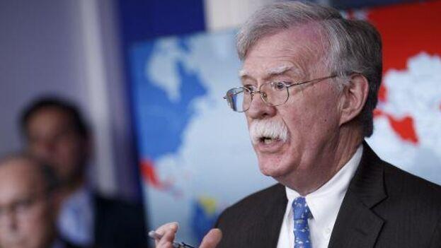 El exasesor en materia de seguridad de la Casa Blanca John Bolton. (EFE)