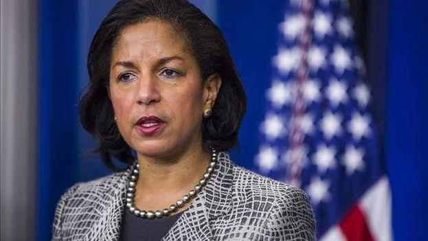 La asesora de seguridad nacional de la Casa Blanca, Susan Rice. (EFE)