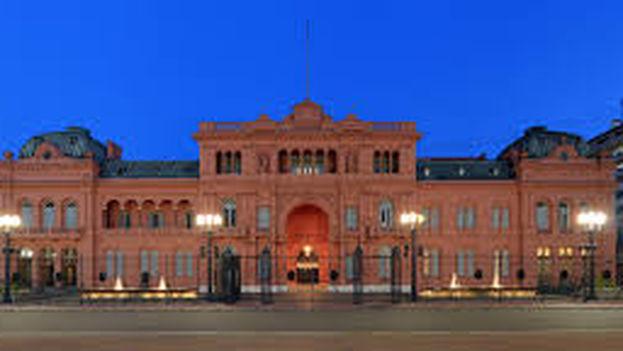 La Casa Rosada es la residencia oficial del presidente argentino. (CC)