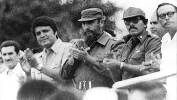 Fidel Castro estuvo una semana en Nicaragua para la celebración del primer aniversario de la Revolución Sandinista. En la imagen, acto del 19 de julio de 1980. (La Prensa/Archivo)