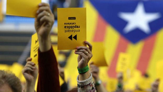 """""""Nosotros tenemos varias Cataluñas y aún tendremos que resolver y resolver estos problemas"""", dijo recientemente Mijaíl Gorbachov, expresidente soviético. (EFE)"""