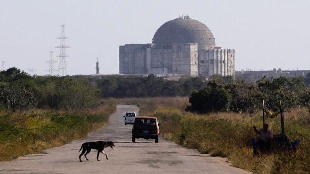 Central Electronuclear de Juraguá, en Cienfuegos. (Wikicommons)